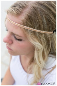 Desert Arrow - Paparazzi Hippie headband