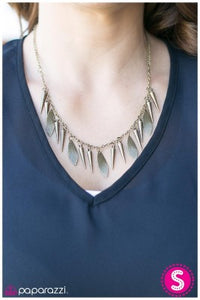 Spike it Rich - Paparazzi necklace
