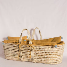 Load image into Gallery viewer, grace-baby-and-child_original-moses-basket-set-mustard-3