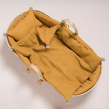 Load image into Gallery viewer, grace-baby-and-child_original-moses-basket-set-mustard-1