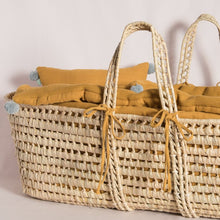 Load image into Gallery viewer, grace-baby-and-child_original-moses-basket-set-mustard-2