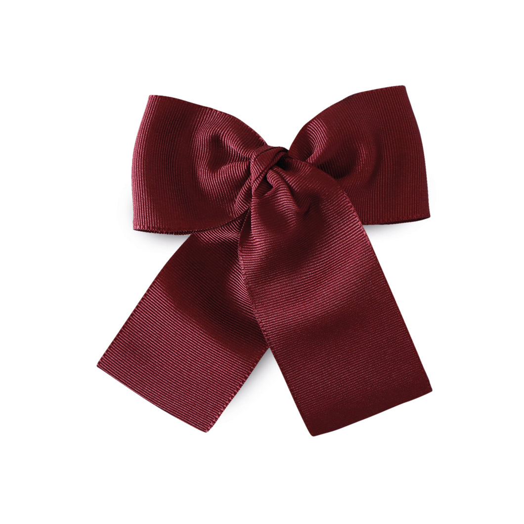 LEMON HAIR LOVERS / BORDEAUX BASIC BOW M
