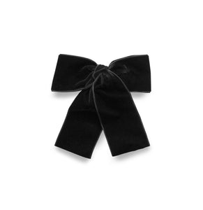 LEMON HAIR LOVERS / BLACK VELVET BOW MINI