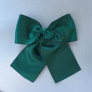 LEMON HAIR LOVERS / GREEN BASIC BOW XL