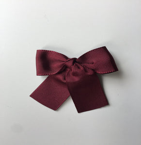 LEMON HAIR LOVERS / BORDEAUX BASIC BOW MINI