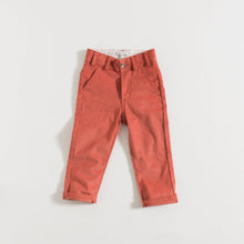 Load image into Gallery viewer, 4 CHINOS / BRICK CORDUROY