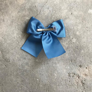 LEMON HAIR LOVERS / BOW BLUE DENIM XL
