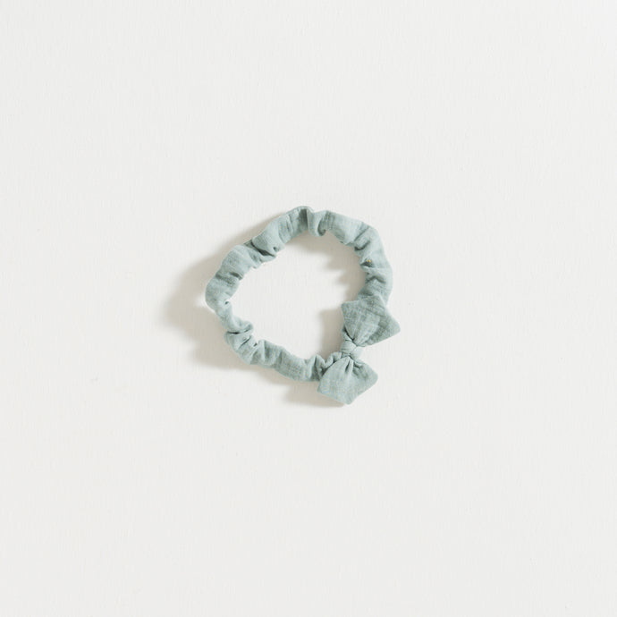 HAIR BAND / MOLD GREEN GAUZE