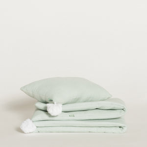 bed-set-home-green-water-white-colour-1