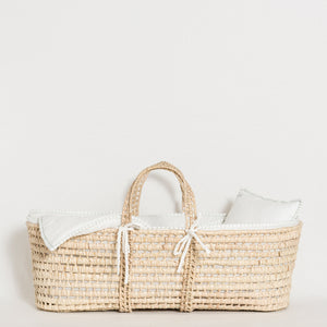 moses-basket-white-green-water-grace-baby-and-child-newborn-side
