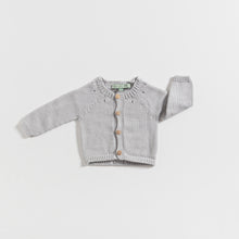 Load image into Gallery viewer, cardigan-newborn-grey-colour-1