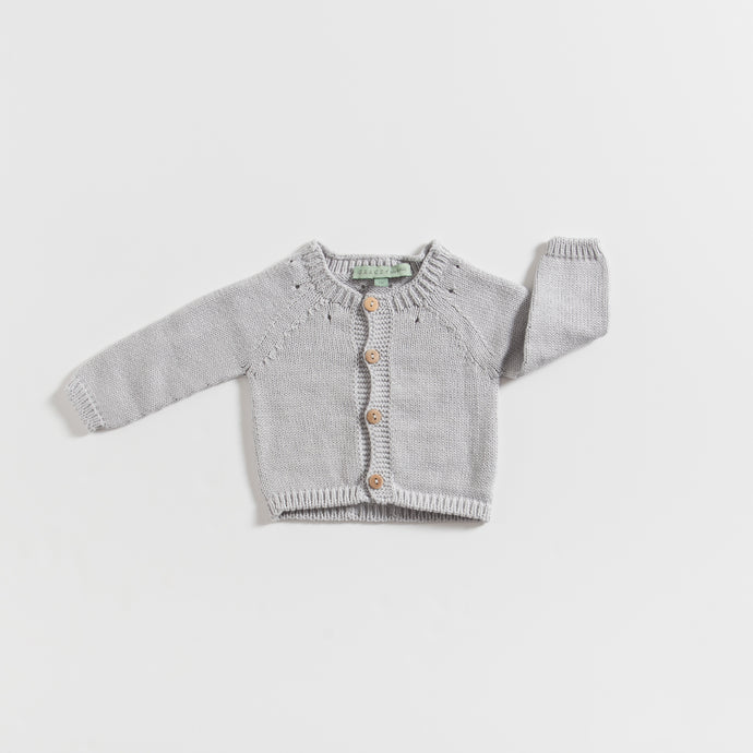 knitted-cardigan-grey-grace-baby-and-child-newborn-basics-front