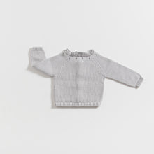 Load image into Gallery viewer, cardigan-newborn-grey-colour-2