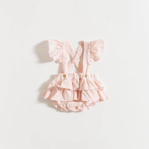 SHORTIES / PINK RUSTIC GAUZE