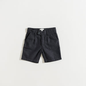 SHORTS / GREY FLANNEL