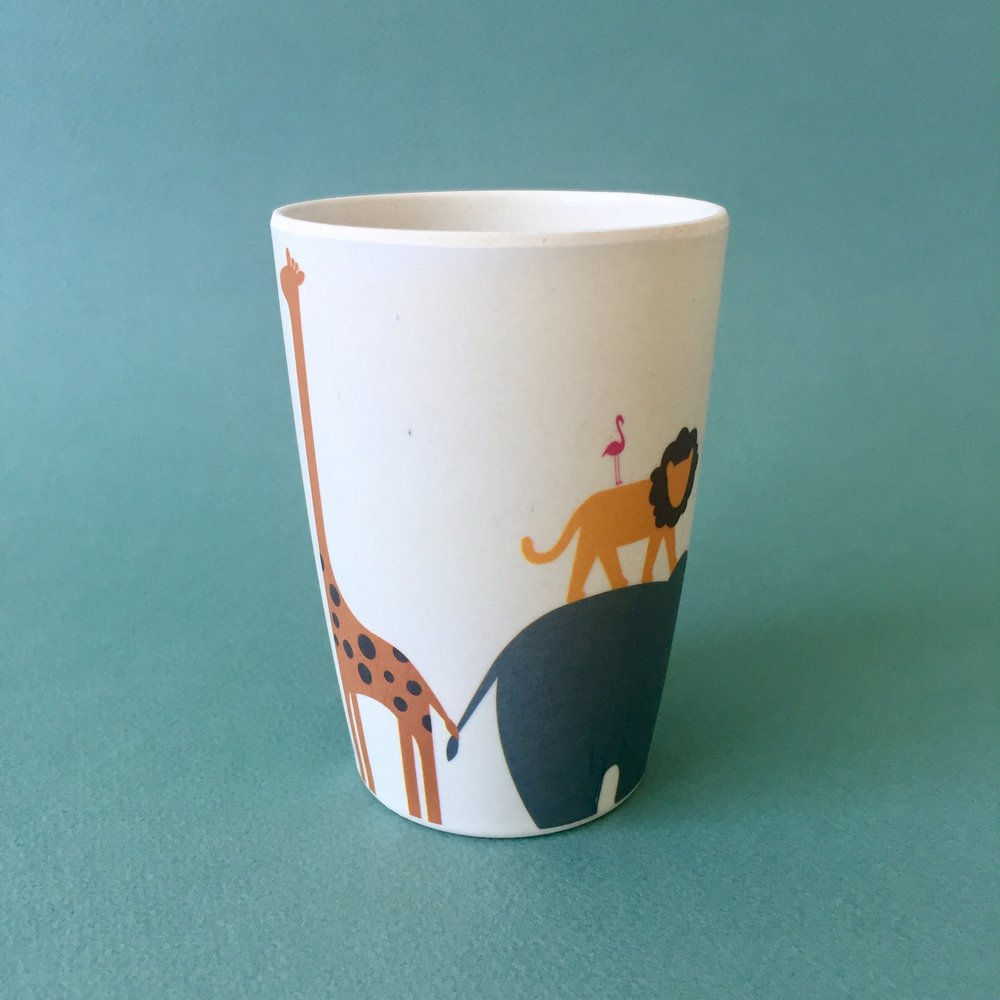 Animal Sizes Cup