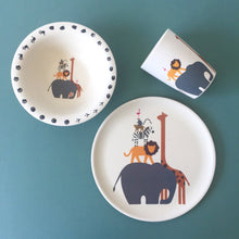 Animal Sizes Plate