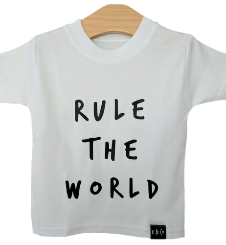 Black & White Rule the World Tee