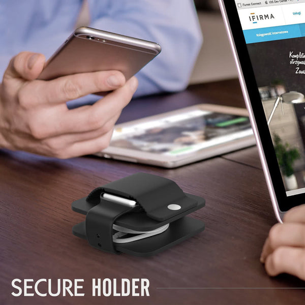 Protective travel wallet & compact charging dock