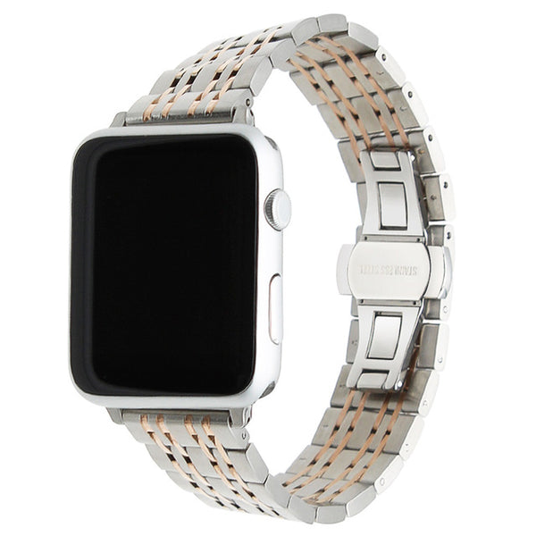 9 Pointer Stainless Steel watch band with adapters - Multiple colors