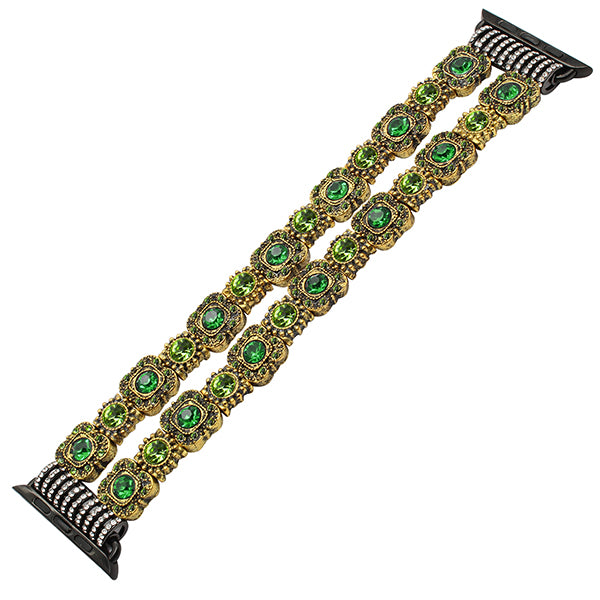 Agate bead bracelet watch band - Multiple designs and colors - WatchBand Co
