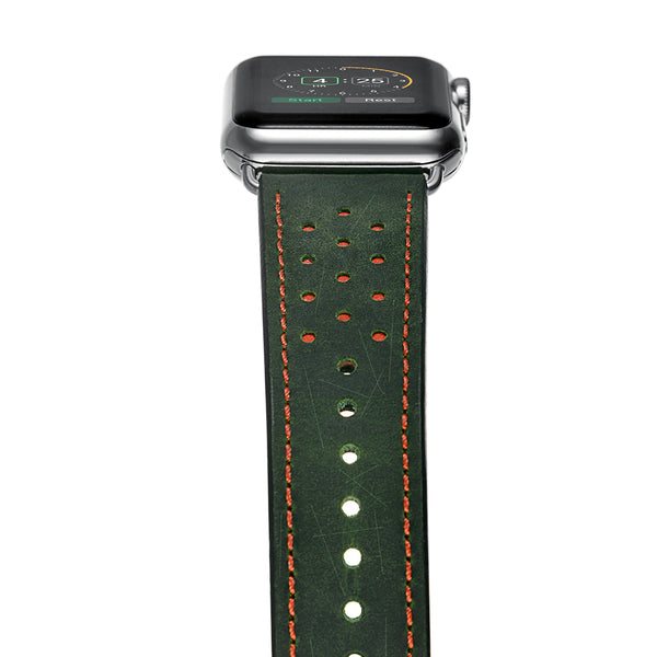 Perforated Genuine Leather Band