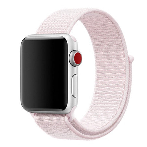 Woven Nylon Sport Apple Watch Band with hook & loop fastener - Multiple colors - WatchBand Co