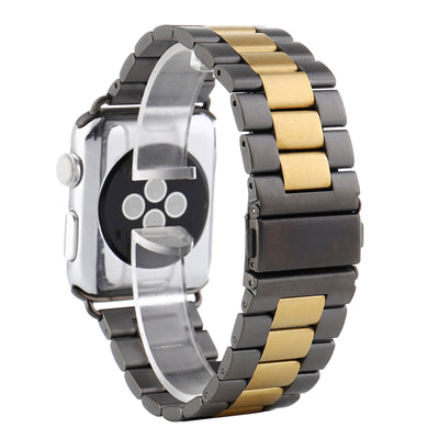 Two-tone Stainless steel watch strap - Multiple colors - WatchBand Co