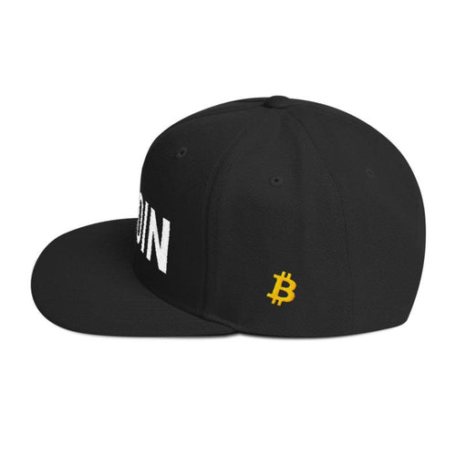 BTC | The Ultimate Custom Bitcoin Hat - Black