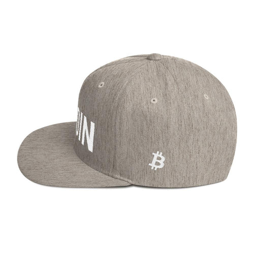 BTC | The Ultimate Custom Bitcoin Hat - Heather Grey