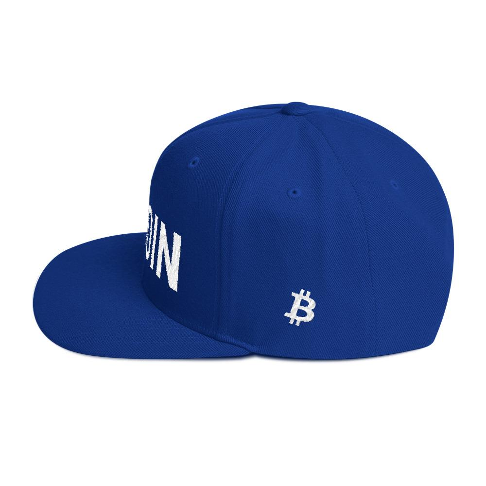 BTC | The Ultimate Custom Bitcoin Hat - Royal Blue