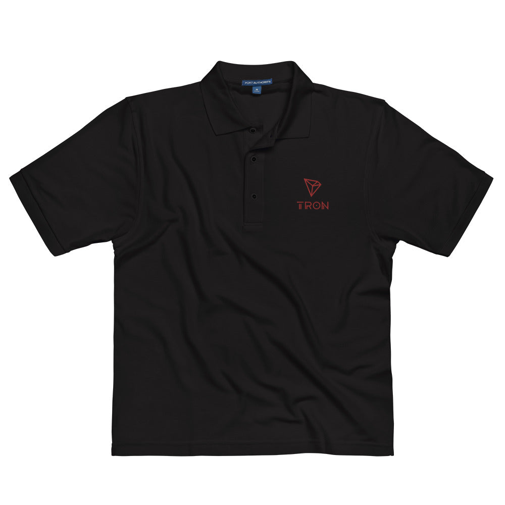 TRX | Tron Embroidered Polo Shirt