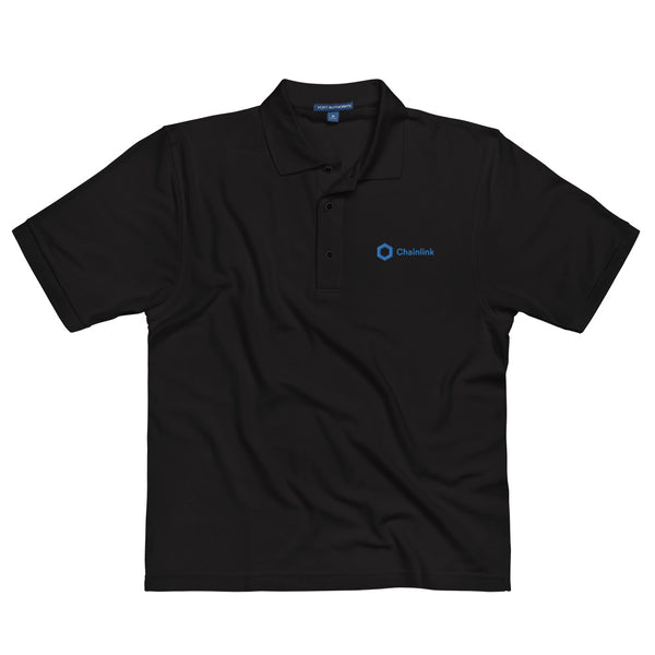 LINK | Chainlink Embroidered Polo Shirt