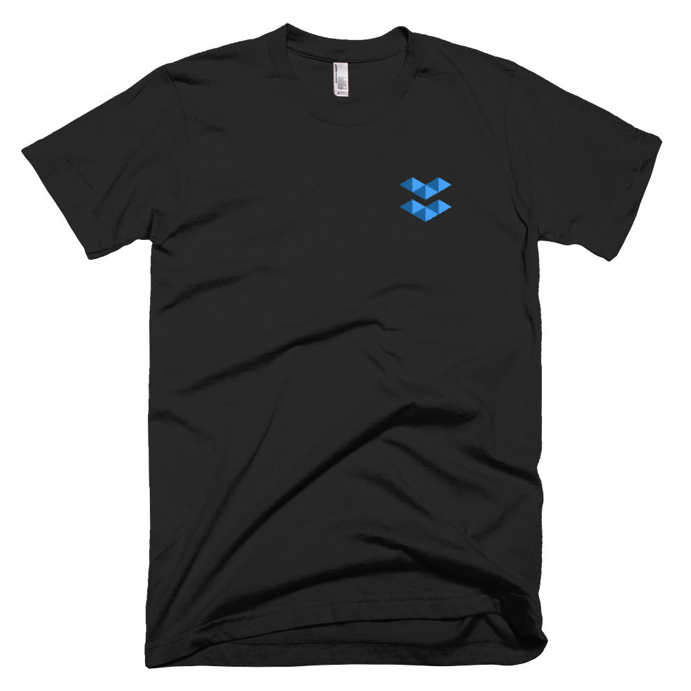 ELA | Elastos Blue Embroidered T-Shirt
