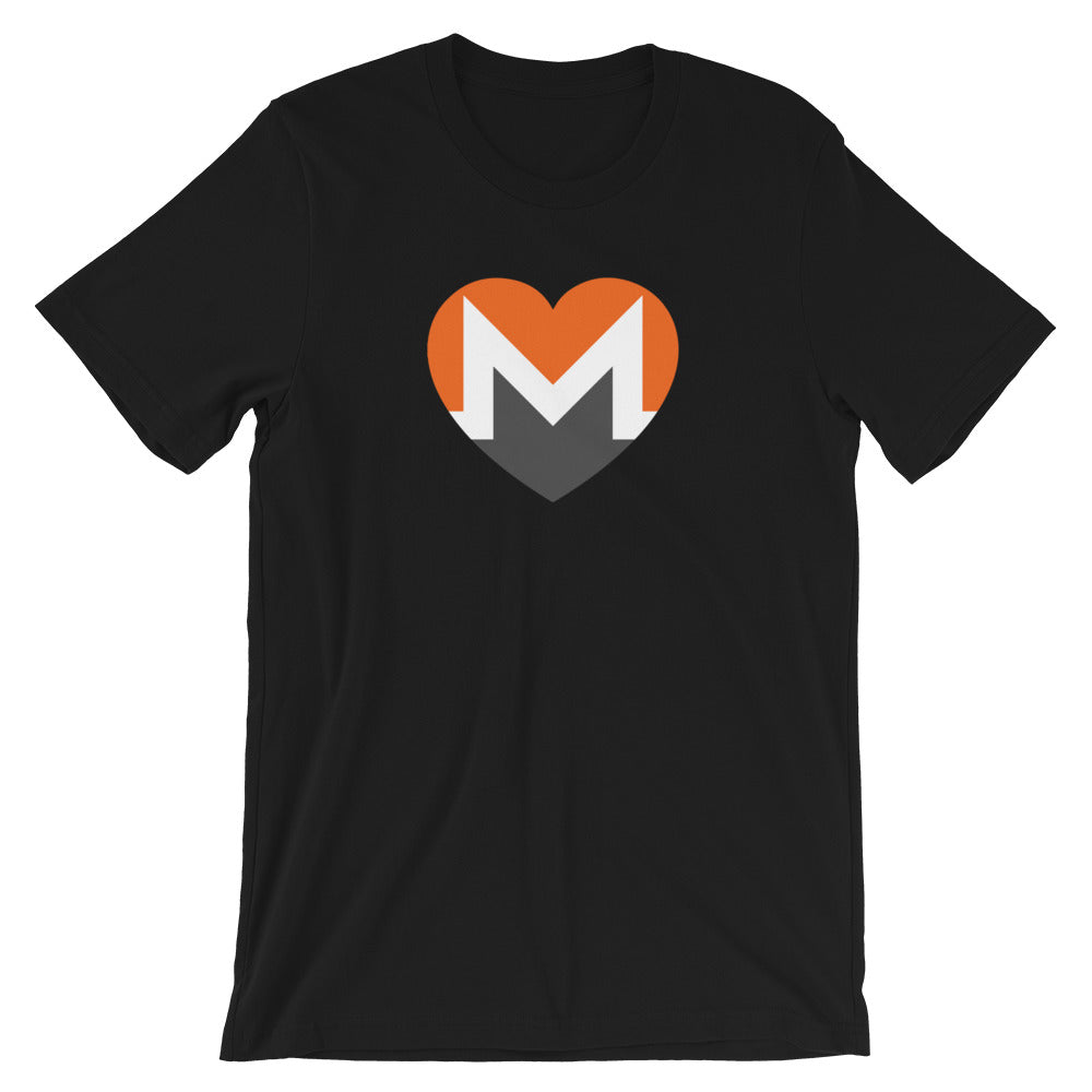 XMR | Monero Love Heart T-Shirt