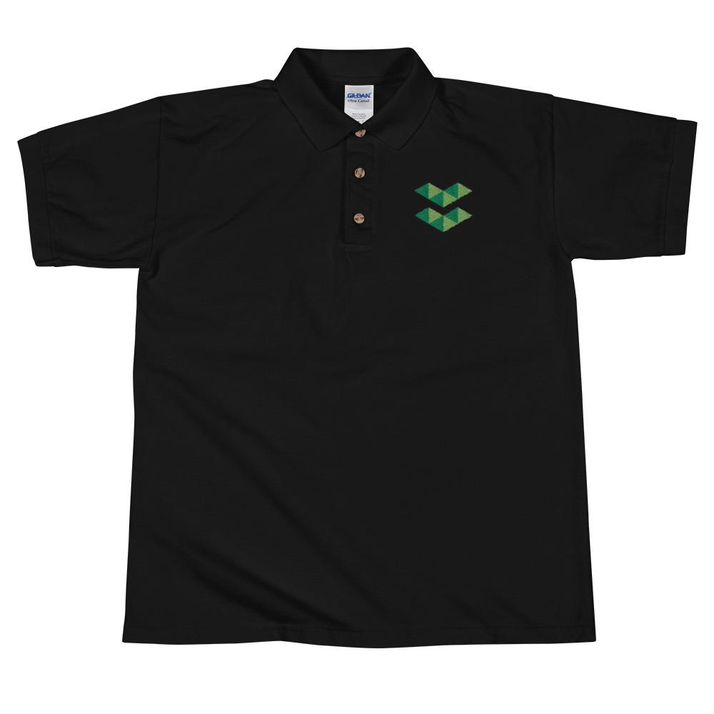 ELA | Elastos Green Embroidered Polo Shirt