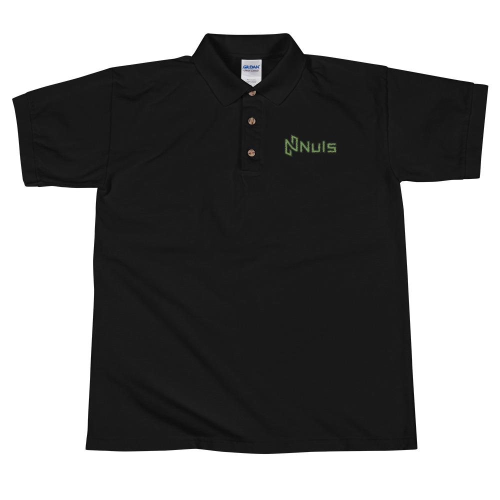 NULS | NULS Wide Embroidered Polo Shirt