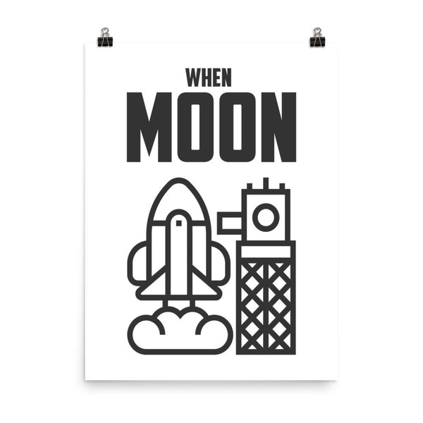 Poster - WHEN MOON?