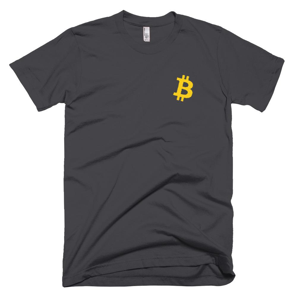 BTC | Bitcoin Embroidered T-Shirt