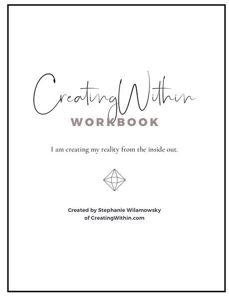 CreatingWithin Workbook (Digital)