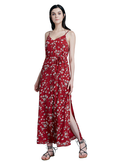 ad4051af79 Alisapan Women Fashion Floral Print Causal Dresses AS07348