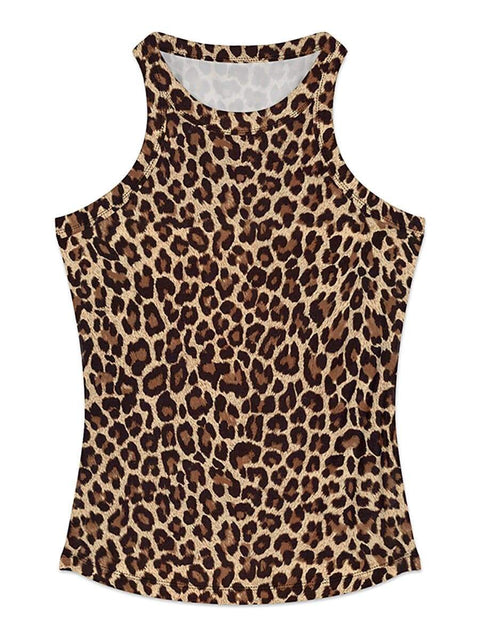 Stylish Street-Style Printed Tank Top for Women