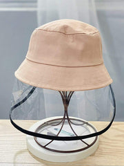 Color=Blush | Anti-Spitting Anti-Dust Anti-Fog Protective Full Hat For Children-Blush 1