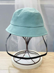 Color=Sky Blue | Anti-Spitting Anti-Dust Anti-Fog Protective Full Hat For Children-Sky Blue 2