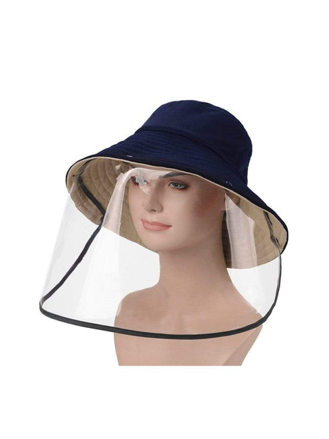 Color=Sapphire Blue | Anti-Spitting Anti-Virus Protective Removable Full Hat-Sapphire Blue 1