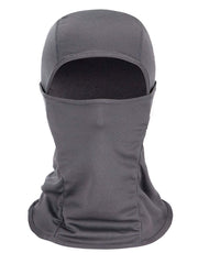 Color=Grey | Warm Light Weight Riding Headwear Balaclava Protective Face Hat-Grey 1