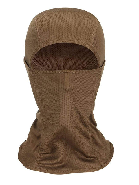 Color=Mushroom | Warm Light Weight Riding Headwear Balaclava Protective Face Hat-Mushroom 1