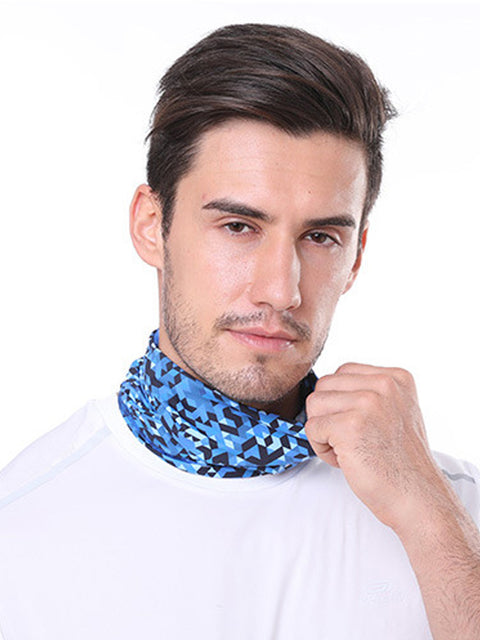 Adult'S Comfort Anti-Dust Protective Neck Gaiter For Sports Running-Dusty Blue 1
