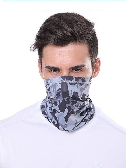 Color=Deep Grey | Comfort Adult Protective Neck Gaiter Running Face Shield For Going Out-Deep Grey 1