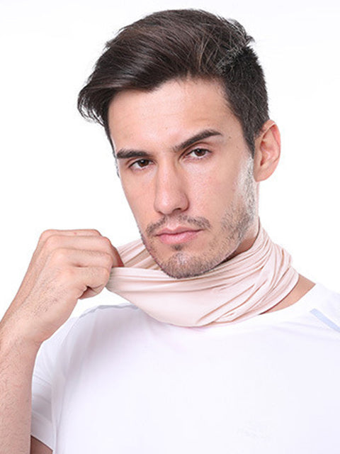 Adult'S Comfort Anti-Dust Protective Neck Gaiter For Sports Running-Pink 1